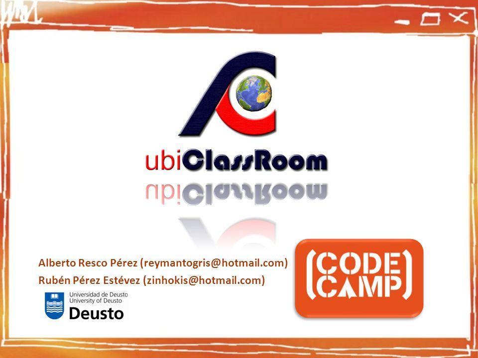 Alberto Resco Pérez (reymantogris@hotmail.com) Rubén Pérez Estévez (zinhokis@hotmail.com)