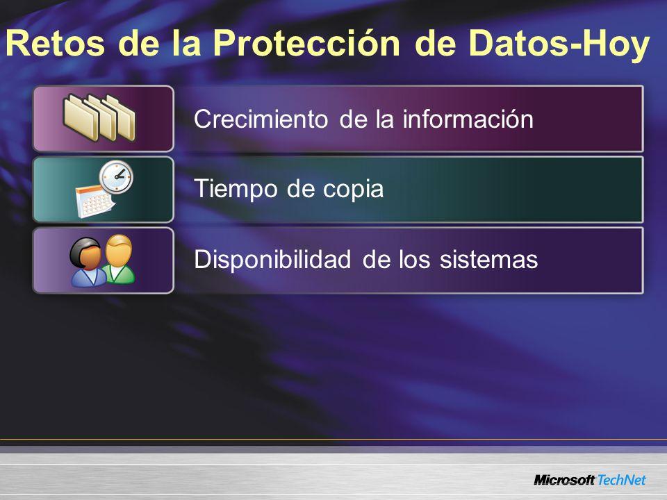 Instalando Data Protection Manager Servidor DPM Windows Server 2003 Administrador Servidores de ficheros Servidores de ficheros