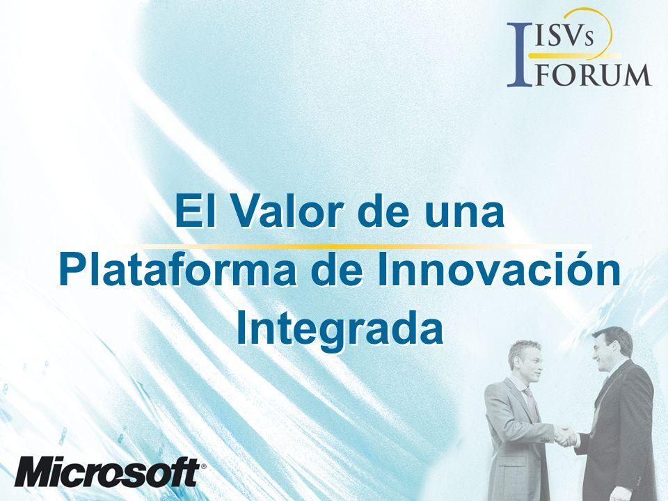 El Valor de una Plataforma de Innovación Integrada