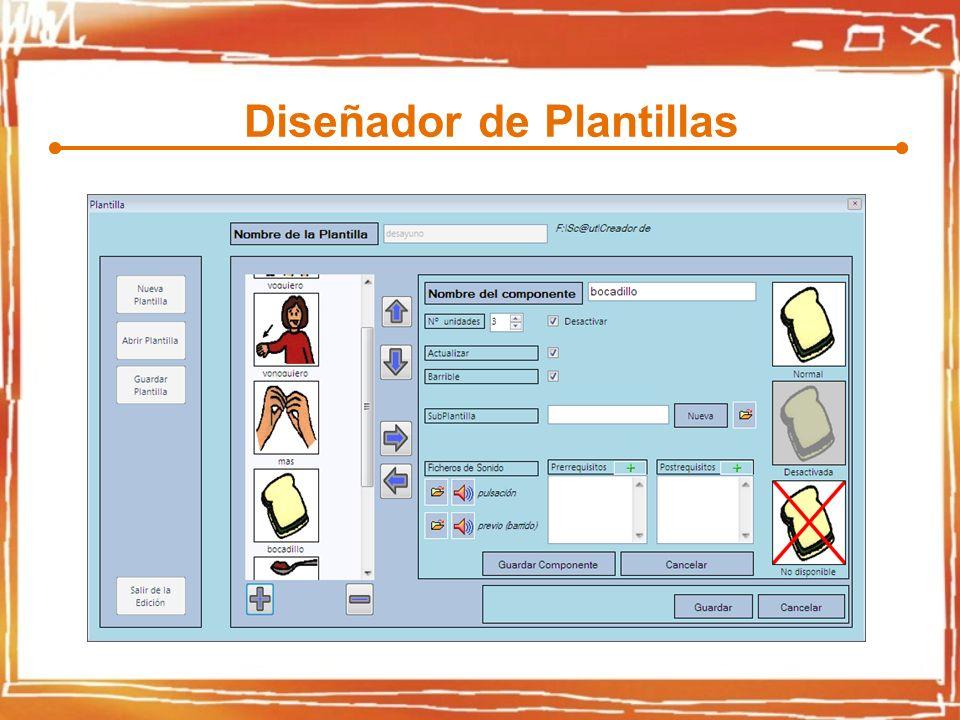 Diseñador de Plantillas