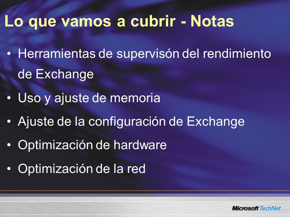 Experiencia útil NIVEL 300 Experiencia en la administración de Windows Experiencia en configurar servidores Exchange Experiencia en configurar Active Directory Experiencia con el Registro de Windows