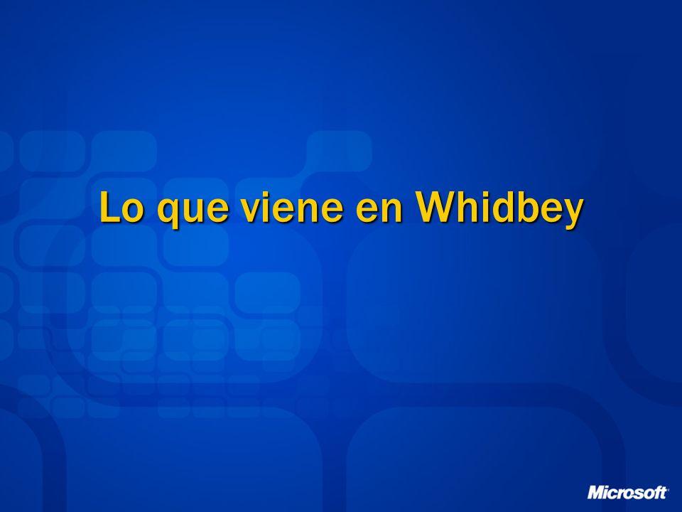 Lo que viene en Whidbey