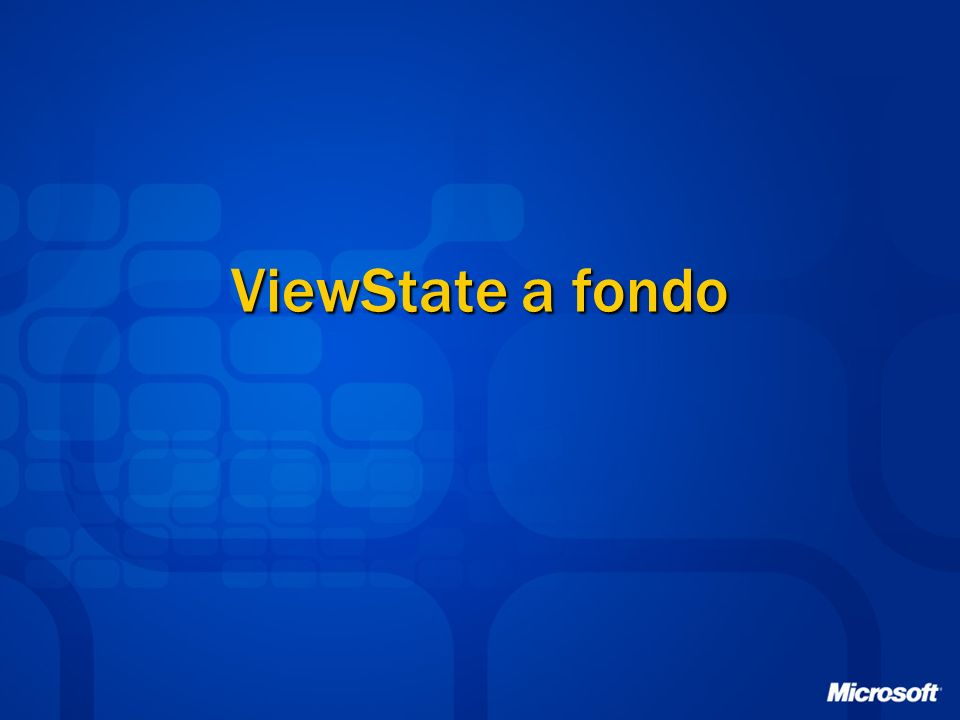 ViewState a fondo