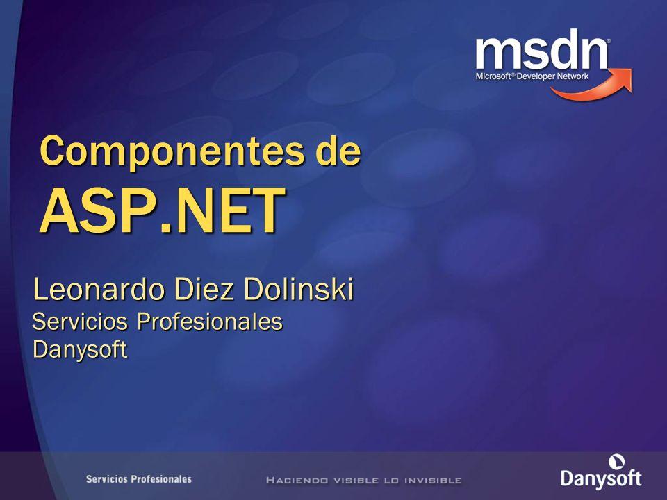 Componentes de ASP.NET Leonardo Diez Dolinski Servicios Profesionales Danysoft
