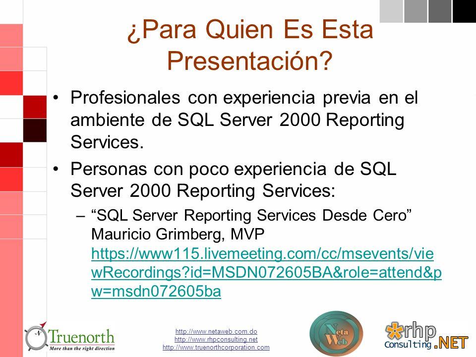http://www.netaweb.com.do http://www.rhpconsulting.net http://www.truenorthcorporation.com ¿Para Quien Es Esta Presentación.