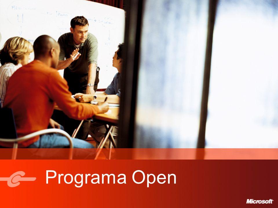 6 Open Multilicencia Tipo de LicenciaPerpetua ClienteEntidad Única Duración del acuerdo2 años PedidosPedido Inicial de 5 o Más Licencias.