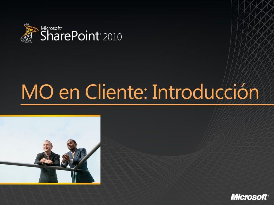 MO en Cliente: Introducción