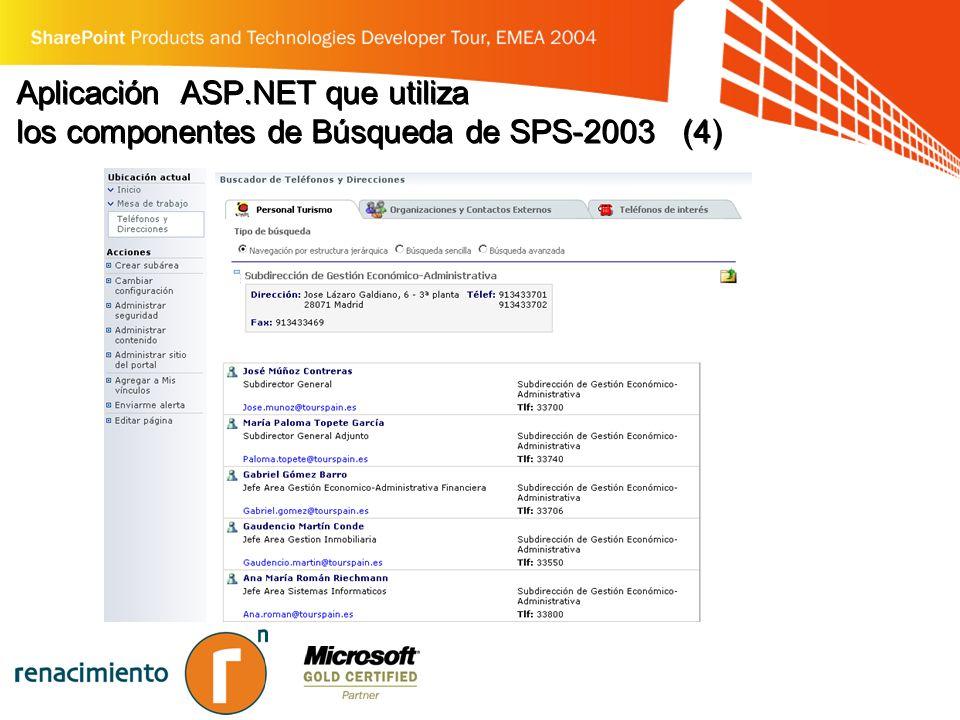 Aplicación ASP.NET que utiliza los componentes de Búsqueda de SPS-2003 (4)