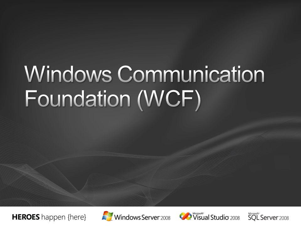 Nombre del Adaptador WCF BindingCuando utilizarlo WCF-BasicHttpBasicHttpBinding Necesidad de interoperar con servicios básicos de WS-I Basic Profile 1.1 WCF-WSHttpWSHttpBinding Necesidad de interoperar con servicios avanzados que implementen protocolos WS-* WCF-NetTcpNetTcpBinding Cuando se necesita interactuar de forma eficiente en la máquina con aplicaciones WCF WCF- NetNamedPipe NetNamedPipe-Binding Cuando se necesita interactuar de forma eficiente entre máquinas con aplicaciones WCF WCF-NetMsmqNetMsmqBinding En comunicaciones asíncronas con otras aplicaciones WCF que requieren durar WCF-CustomCualquiera Cuando es necesario definir una configuración de enlace (binding) personalizada para un BTS HOST marcado como In Process WCF- CustomIsolated CualquieraCuando es necesario definir una configuración de enlace (binding) personalizada para un BTS HOST marcado como Isolated