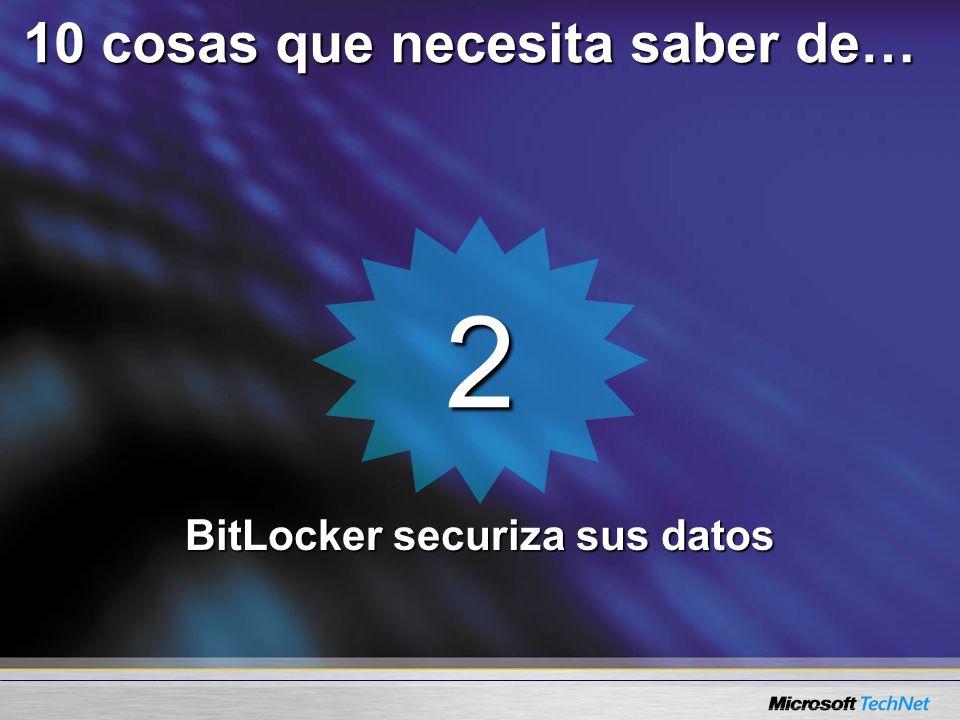 2 BitLocker securiza sus datos 10 cosas que necesita saber de…