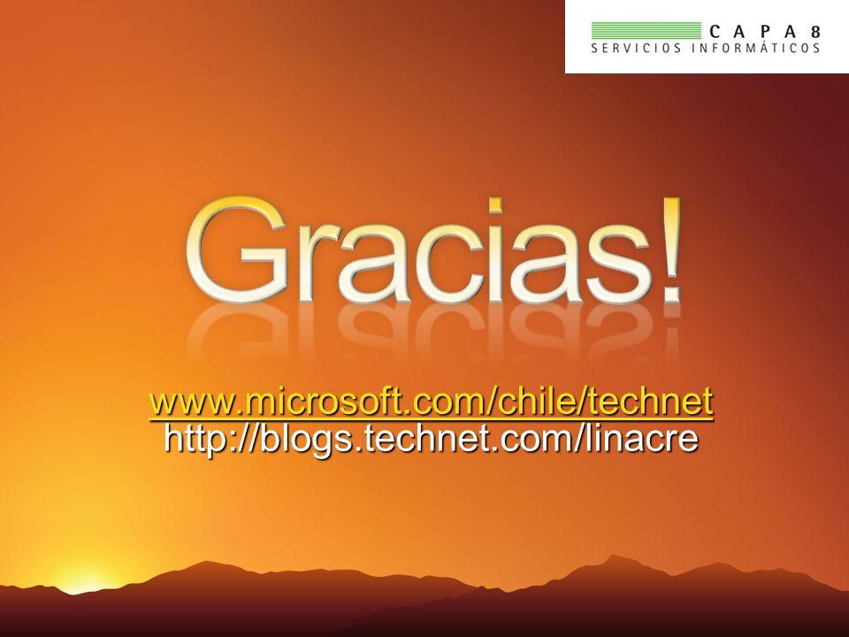 www.microsoft.com/chile/technet www.microsoft.com/chile/technethttp://blogs.technet.com/linacre