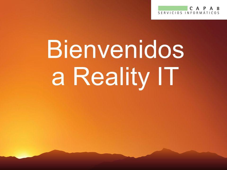 Bienvenidos a Reality IT