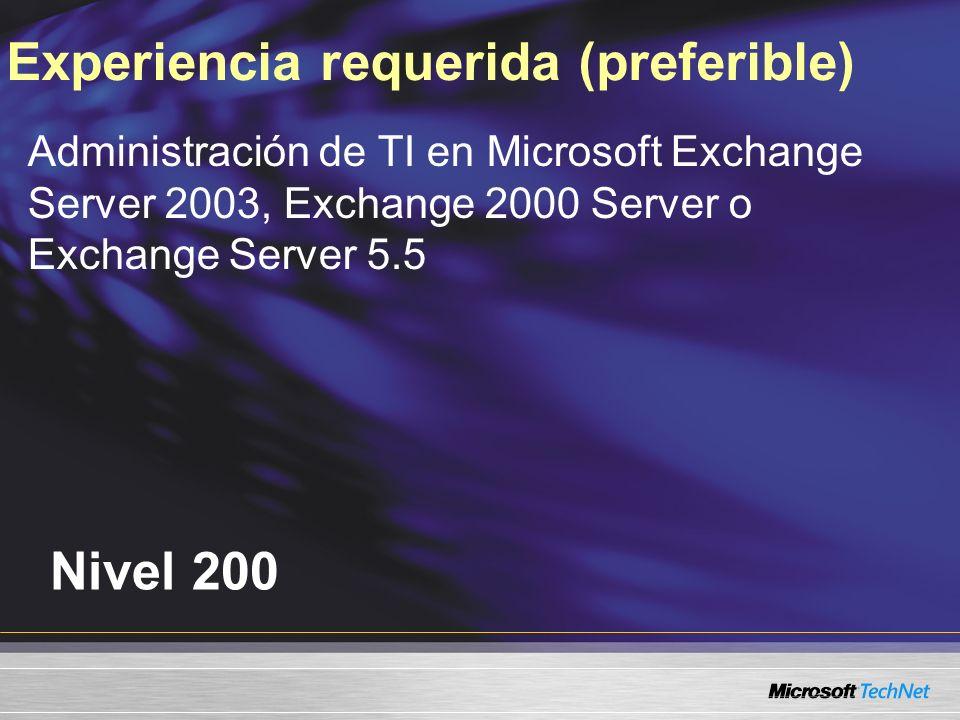 Servidor Client Access y versiones mixtas de Exchange Server Servidor Client Access provee acesso a servidores de buzones Exchange 2000/2003 Exchange 2000/2003 como servidor front-end no puede proveer acceso a un servidor de buzones en Exchange 2007