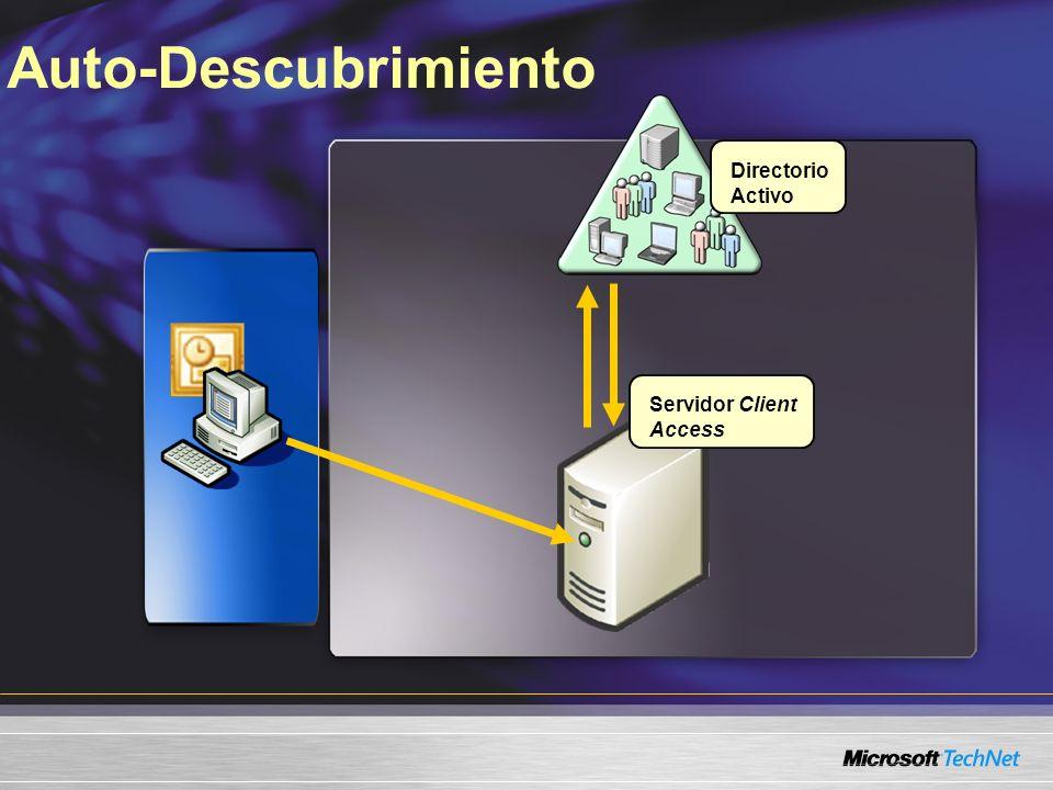 Auto-Descubrimiento Servidor Client Access Directorio Activo