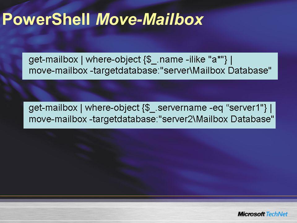 PowerShell Move-Mailbox