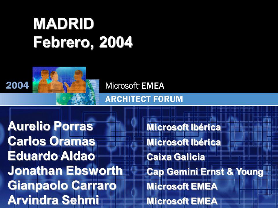 EMEA 8 Systems Architecture