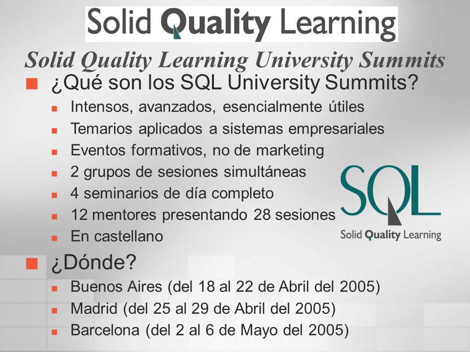 Salvador Ramos MVP de SQL Server MCP SQL Server Columnista de dotNetManía