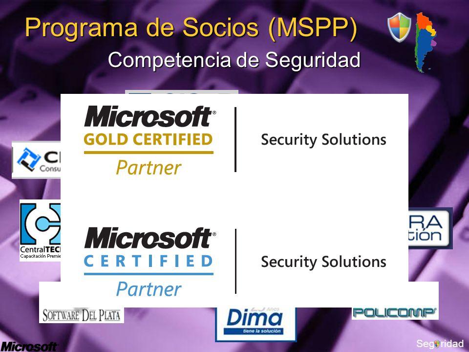 Segridad Programa de Socios (MSPP) Competencia de Seguridad
