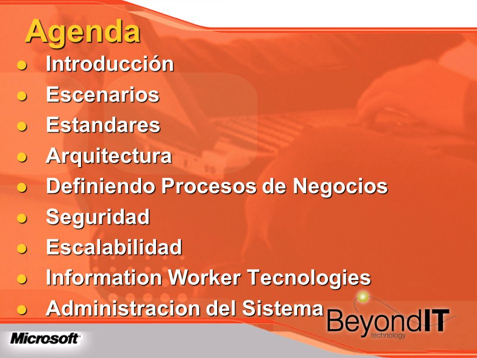 Agenda Introducción Introducción Escenarios Escenarios Estandares Estandares Arquitectura Arquitectura Definiendo Procesos de Negocios Definiendo Proc