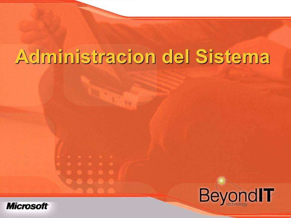 Administracion del Sistema