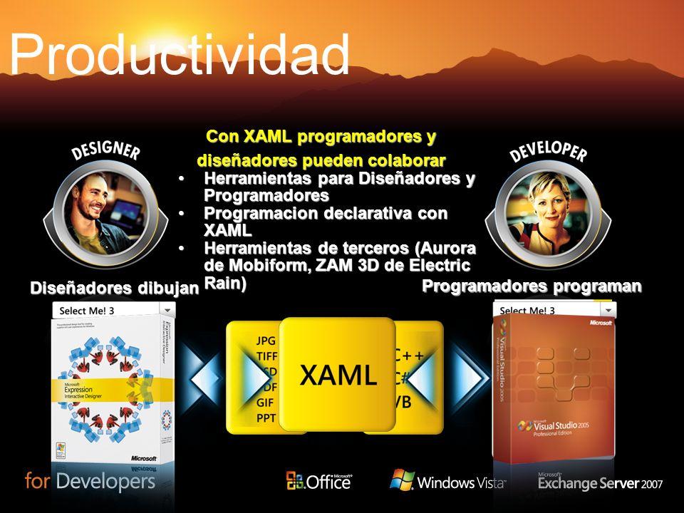 Herramientas para Diseñadores y ProgramadoresHerramientas para Diseñadores y Programadores Programacion declarativa con XAMLProgramacion declarativa c