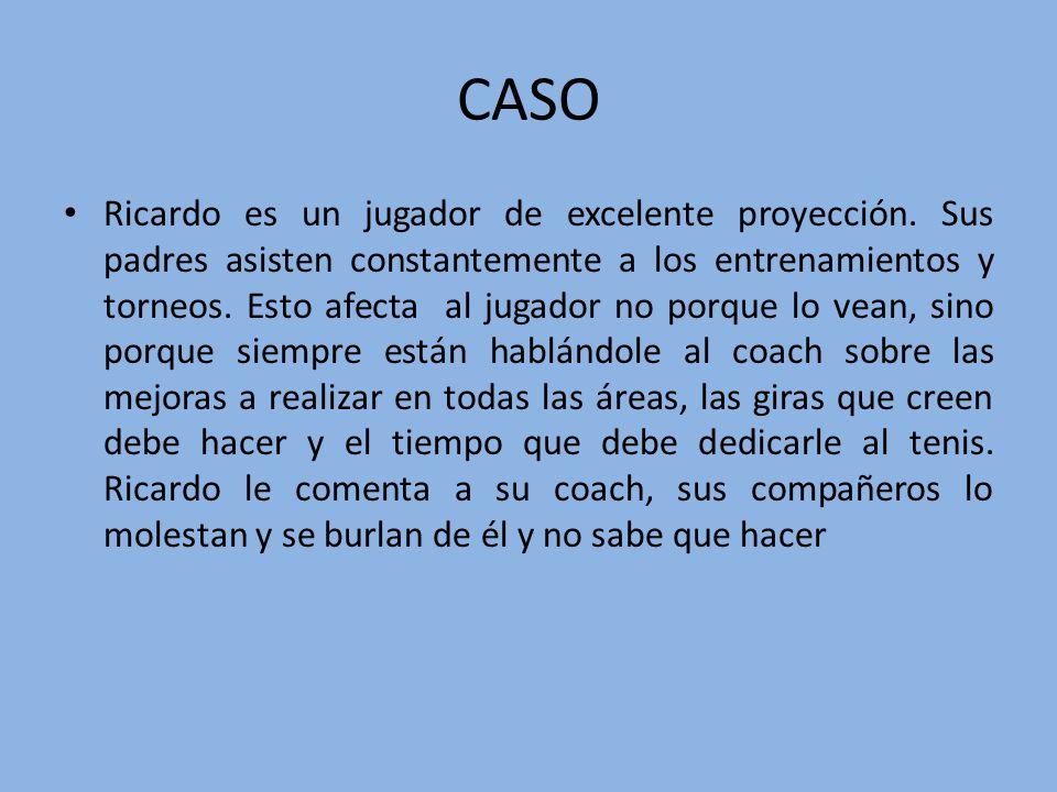 CASO Ricardo es un jugador de excelente proyección.