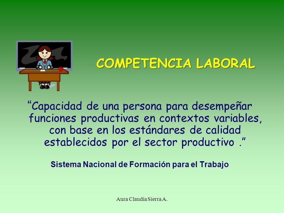COMPETENCIA LABORAL.