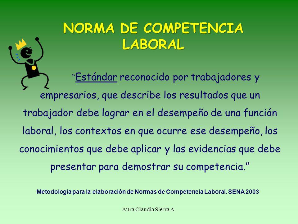 MESA SECTORIAL Aura Claudia Sierra A. Instancia de concertación nacional conformada por expertos en el área de análisis, con conocimiento, experiencia
