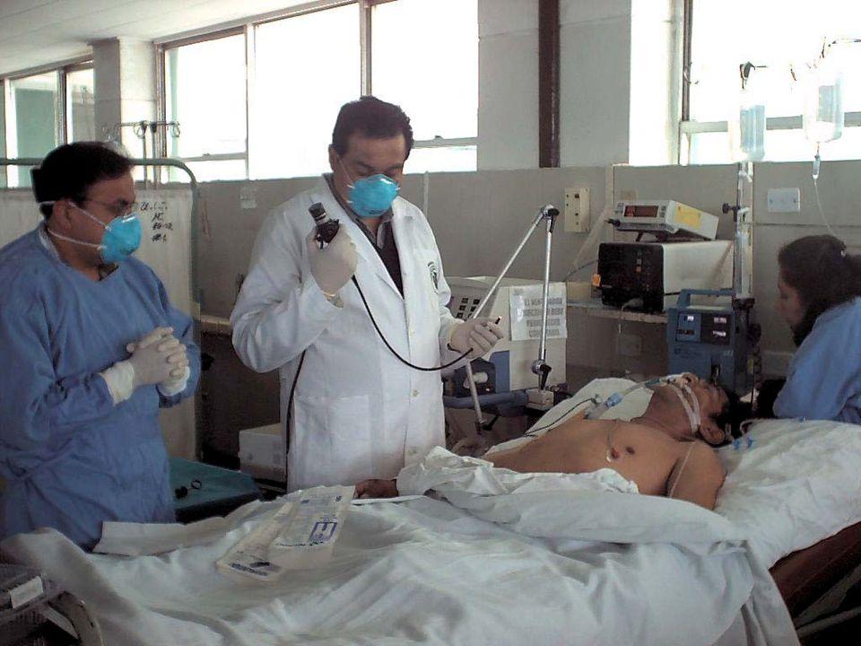 MECANISMO: TRANSTORNO DE LA DIFUSION –Neumopatía intersticial –Edema Pulmonar –Pulmón Urémico –Enfermedad de la membrana hialina –SDRA (Síndrome de Distress Respiratorio Agudo) INSUFICIENCIA RESPIRATORIA AGUDA
