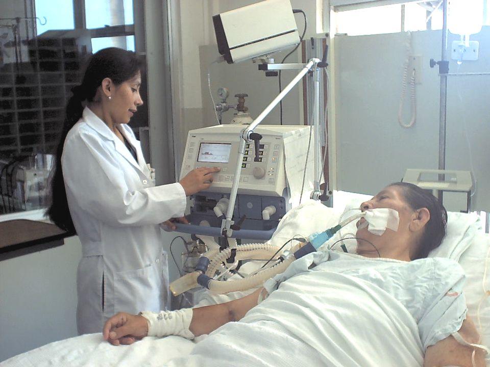 INSUFICIENCIA RESPIRATORIA AGUDA CRITERIOS DE ALTA Estabilidad hemodinámica, sin requerimiento de vasopresores.