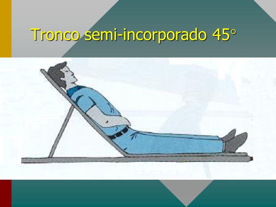 Tronco semi-incorporado 45°