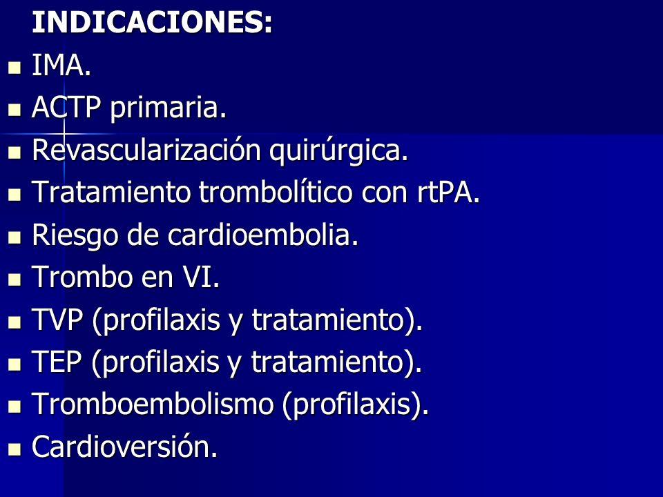 Fibrilación auricular crónica.Fibrilación auricular crónica.