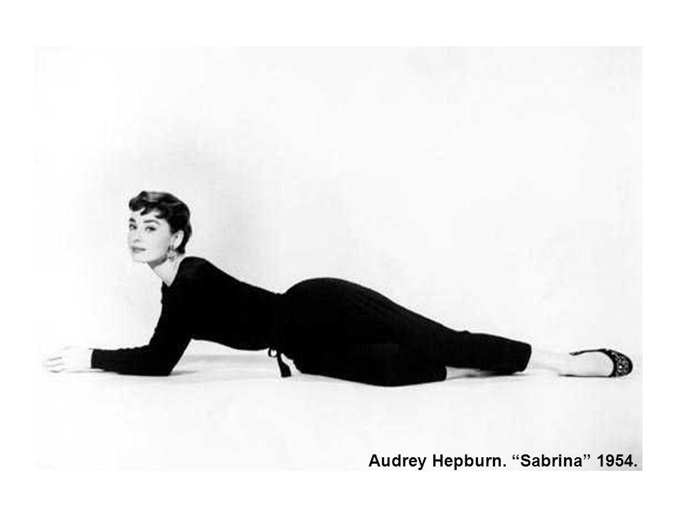 Audrey Hepburn. Sabrina 1954.