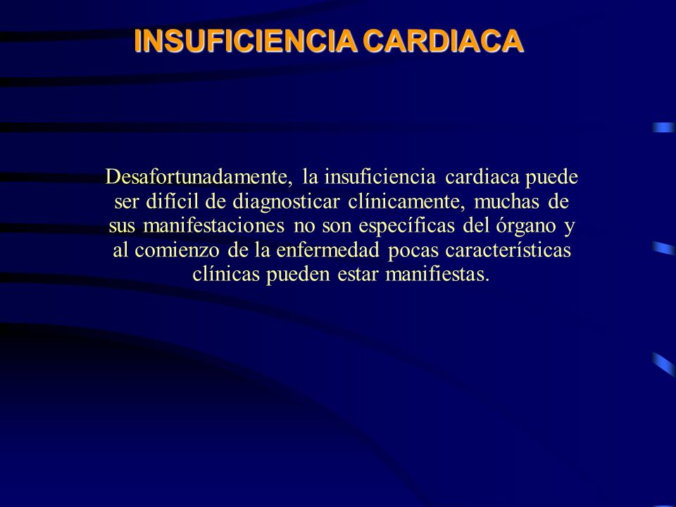 CURSO DE GERIATRIA EN EMERGENCIA INSUFICIENCIA CARDIACA EN EL ANCIANO INSUFICIENCIA CARDIACA EN EL ANCIANO La esencia misma del ejercicio de la cardiología es la detección temprana de la insuficiencia cardiaca Sir Thomas Lewis, 1933