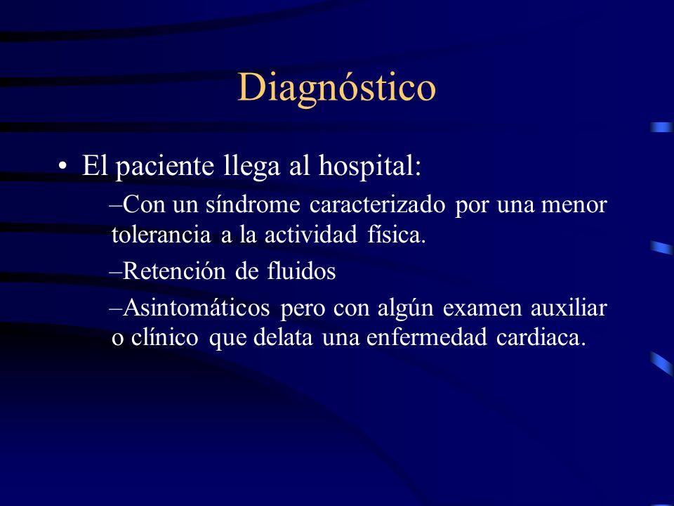 Estudio Confirmar el diagnóstico Identificar otras patologías asociadas.