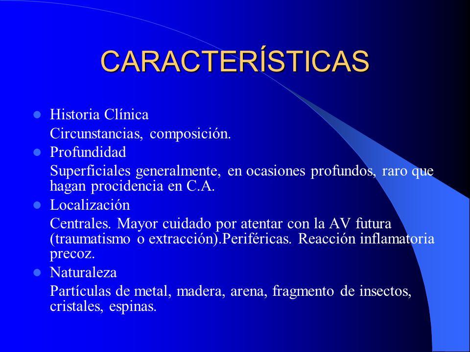 TRAUMA OCULAR Se clasifica en 2 categorías: - Lesiones contundentes - Lesiones penetrantes Considerado la segunda causa de compromiso visual después de catarata Aproximadamente 48.2% son contundentes, 48% penetrantes Afecta mayormente sexo masculino (87%)