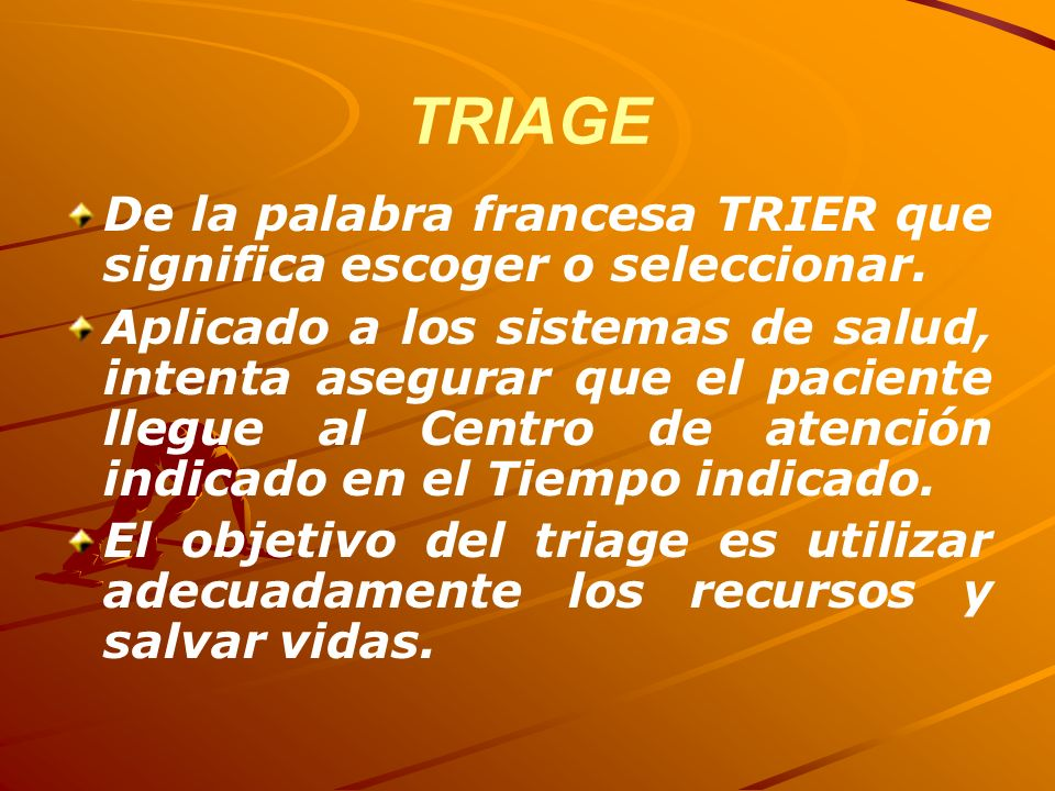CATEGORIZACION TRATAMIENTO TRANSPORTE START ESCENA