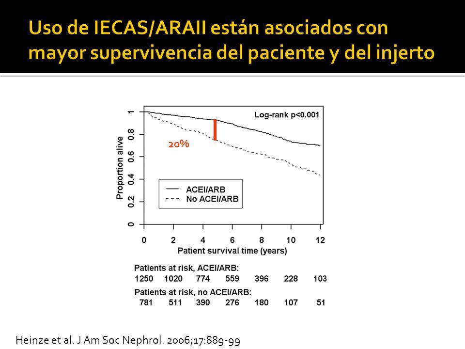 20% Heinze et al. J Am Soc Nephrol. 2006;17:889-99