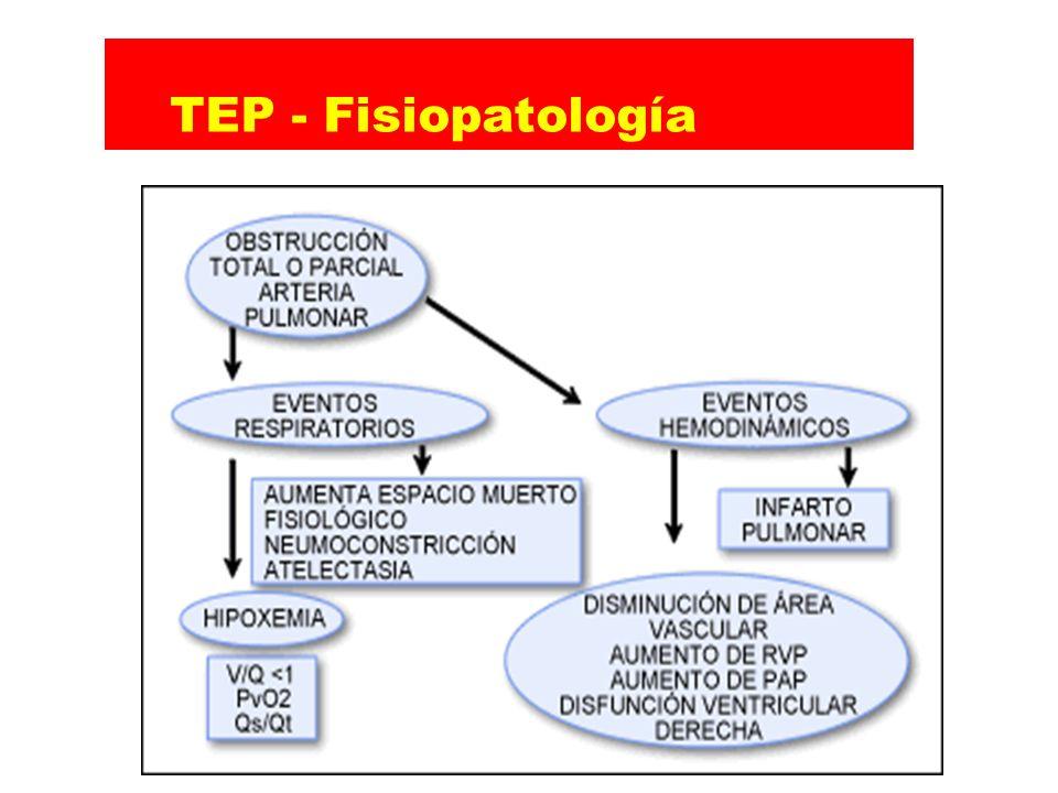 TEP - Fisiopatología