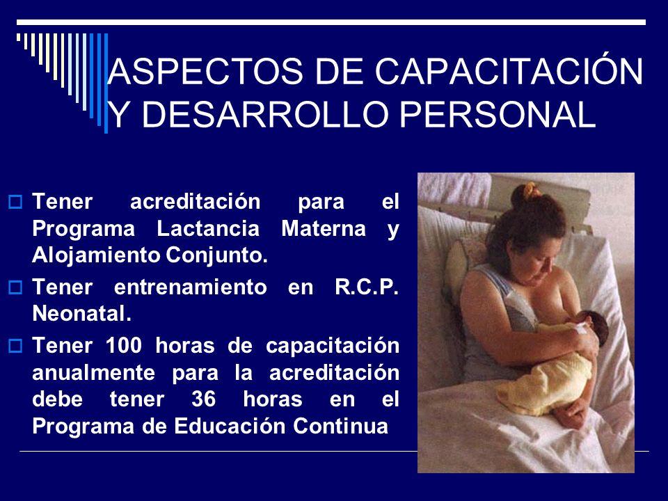 ACTITUDES Vocación de servicio Identificación de los derechos del niño y la madre. Practica ética y ejercicios de valores. Perseverancia. Disciplina.