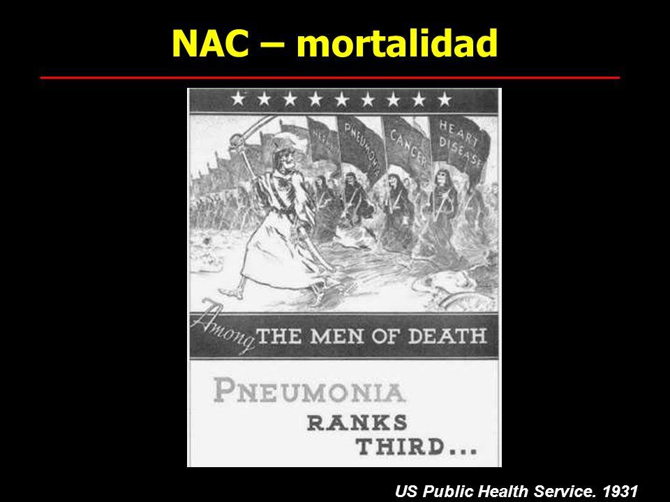 NAC – mortalidad US Public Health Service. 1931