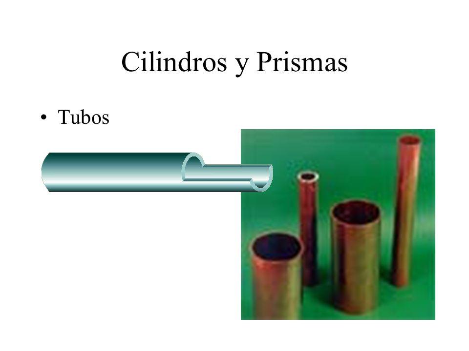Cilindros y Prismas Tubos