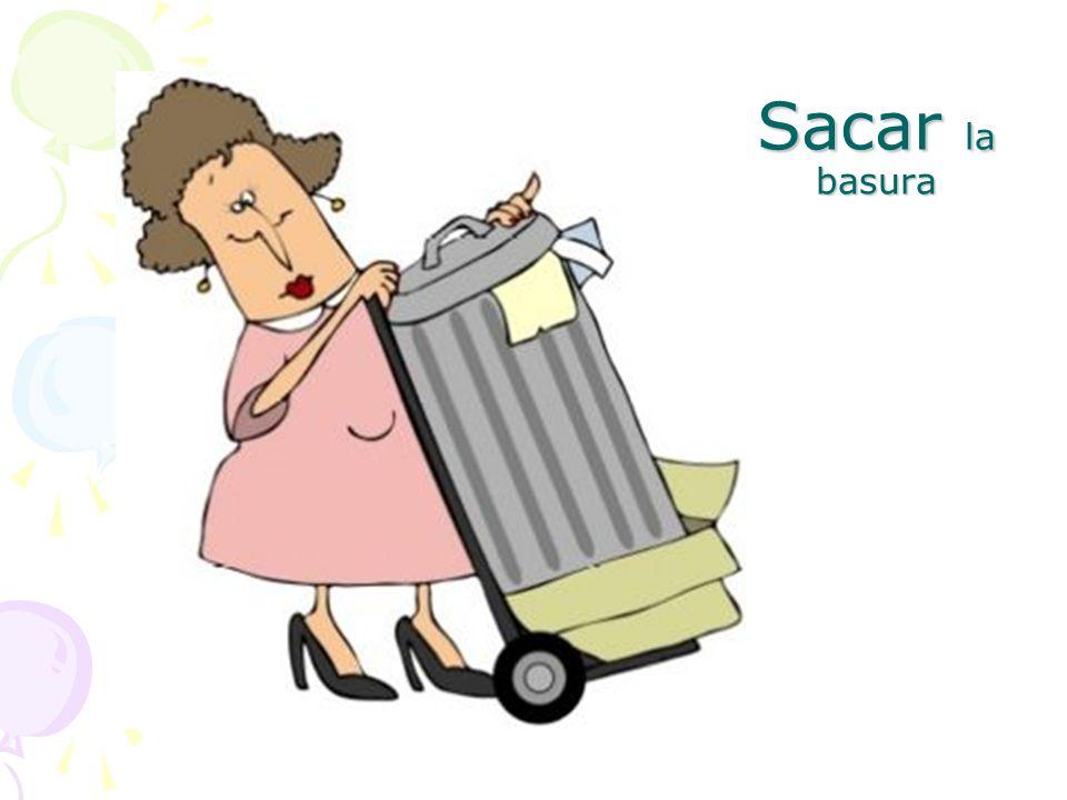 Sacar la basura