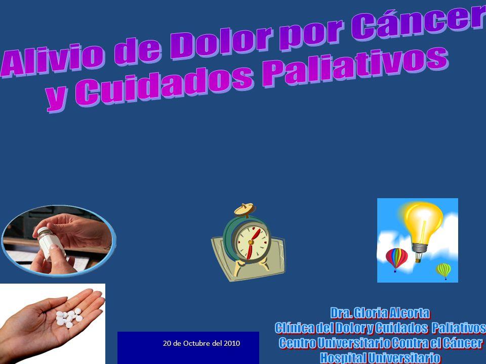 C uidados P aliativos: Cuidado activo y total de los pacientes en el momento en que el Ca.