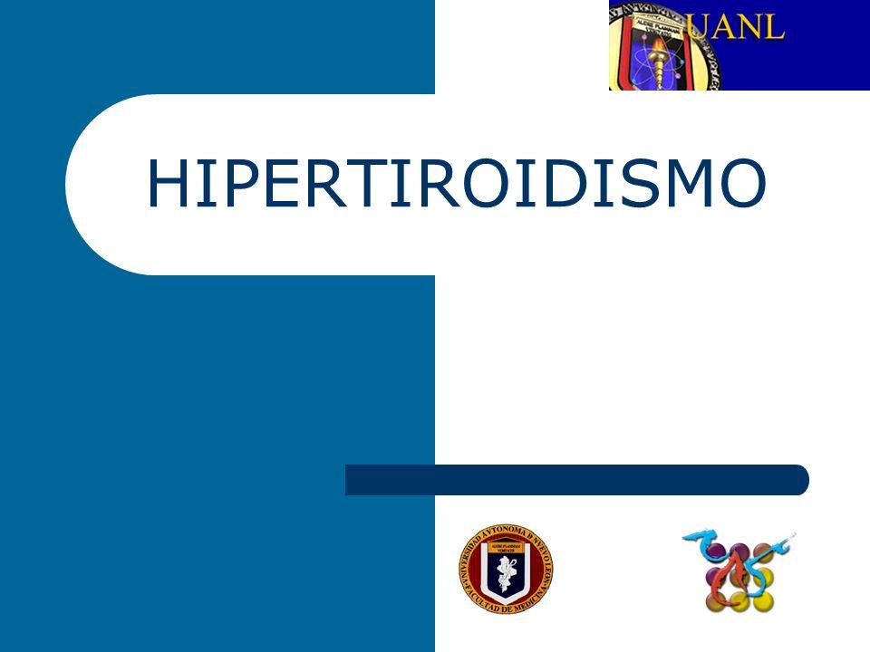 TIROTOXICOSIS Es el término que se utiliza para referirse a las alteraciones bioquímicas y fisiológicas que resultan cuando los tejidos son expuestos a cantidades excesivas de hormonas tiroideas.