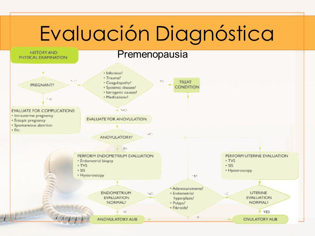 Evaluación Diagnóstica Premenopausia