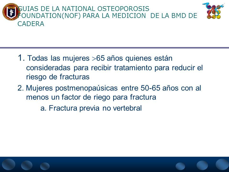 MARCADORES BIOQUÍMICOS DEL REMODELADO ÓSEO PARA LA EVALUACIÓN DE OSTEOPOROSIS Valora la velocidad de recambio esquéletico. Ayuda en el manejo de osteo