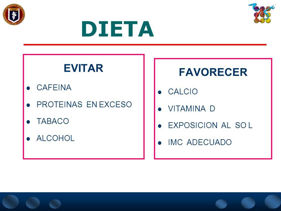 RECOMENDACIONES NO FARMACOLÓGICAS EN LA OSTEOPOROSIS DIETA EJERCICIO PREVENCION DE CAIDAS PROTECTORES DE CADERA ???