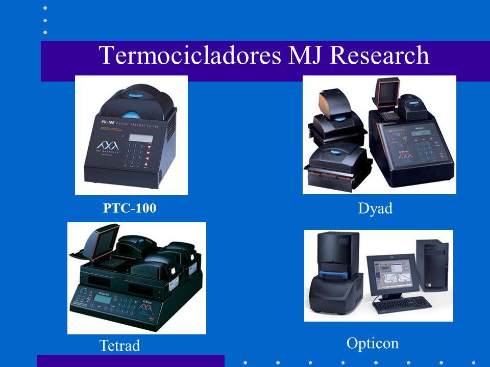 Termocicladores MJ Research PTC-100 Opticon Tetrad Dyad