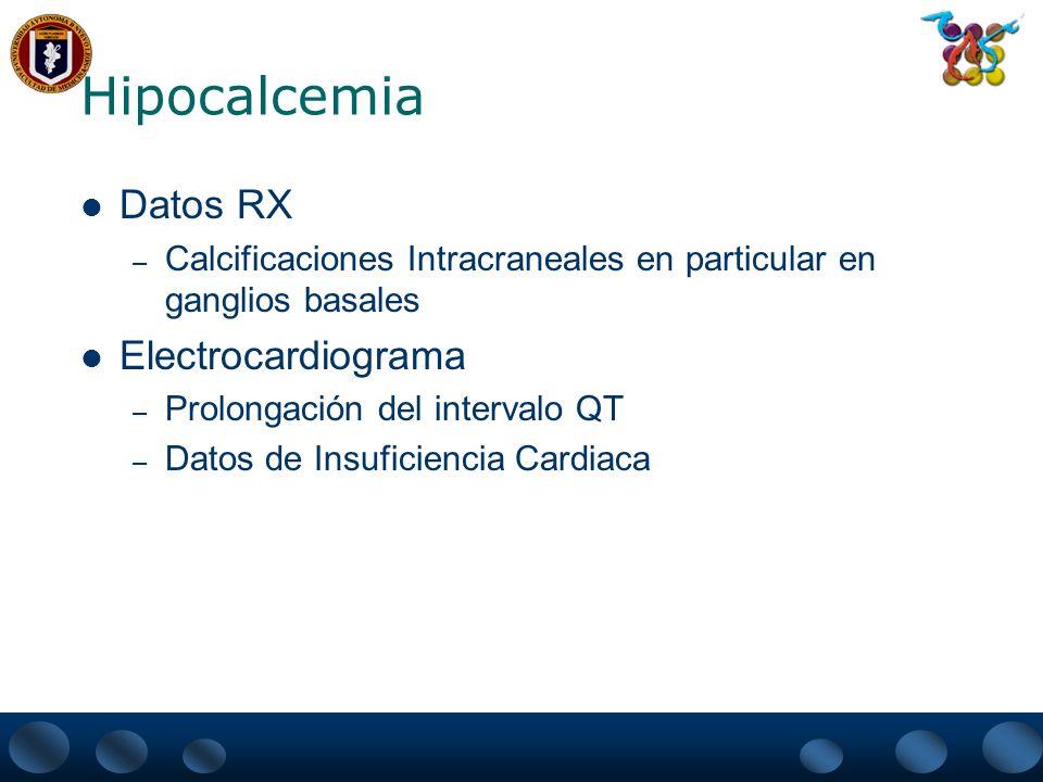Hipoparatiroidismo Primario Definición – Es una deficiencia de la secreción o la acción de la Hormona Paratiroidea Presentan Hipocalcemia e hiperfosfatemia